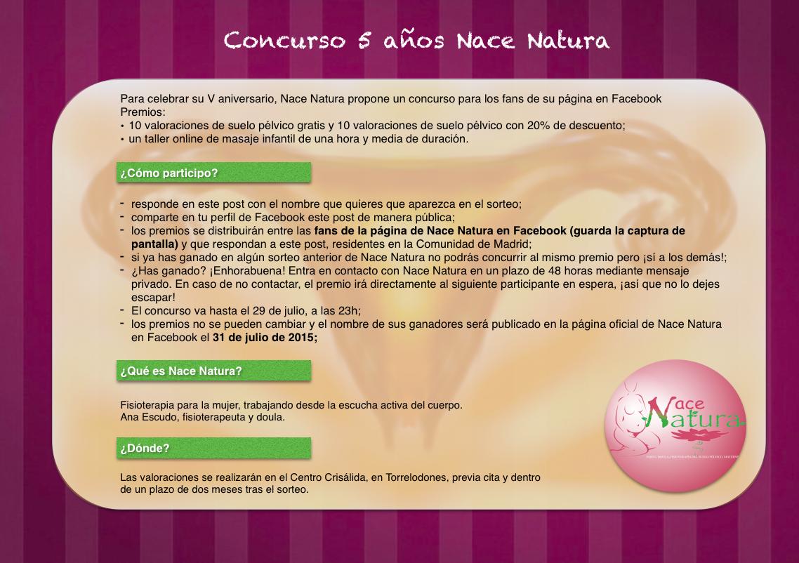 Concurso Nace Natura 2015